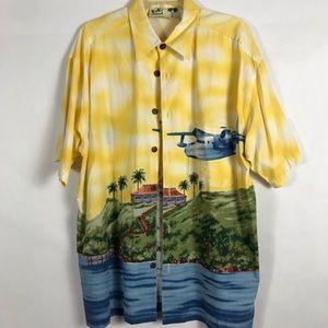 Koko Island Hawaii Shirt SZ L